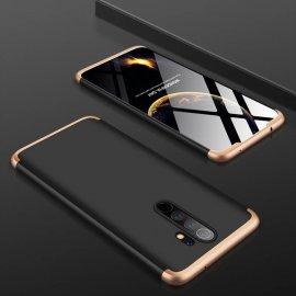 Funda 360 Xiaomi Redmi Note 8 Pro Negra y Dorada