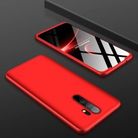 Funda 360 Xiaomi Redmi Note 8 Pro Roja