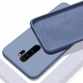 Carcasa Xiaomi Redmi Note 8 Pro Lavable Mate Azul Claro