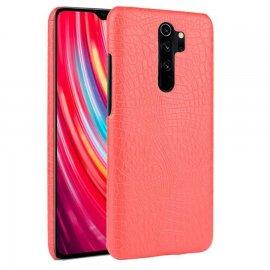 Carcasa Xiaomi Redmi Note 8 Pro Cocodrilo Roja