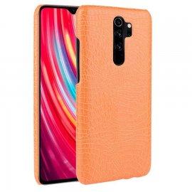 Carcasa Xiaomi Redmi Note 8 Pro Cocodrilo Naranja