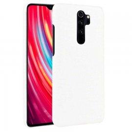 Carcasa Xiaomi Redmi Note 8 Pro Cocodrilo Blanca