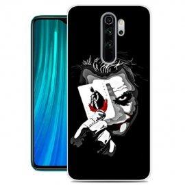 Funda Xiaomi Redmi Note 8 Pro Dibujo Joker Tpu