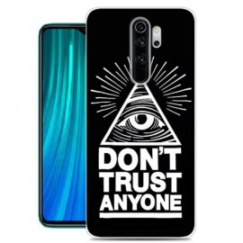 Funda Xiaomi Redmi Note 8 Pro Dibujo Confianza Tpu