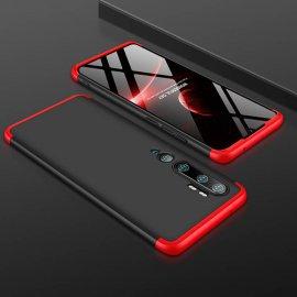 Funda 360 Xiaomi Mi Note 10 Negra y Roja