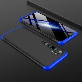 Funda 360 Xiaomi Mi Note 10 Negra y Azul