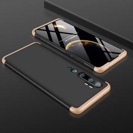 Funda 360 Xiaomi Mi Note 10 Negra y Dorada