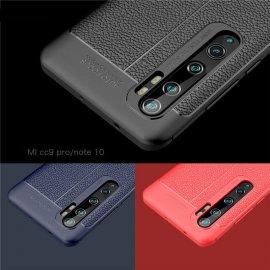 Funda Xiaomi Mi Note 10 Cuero Tpu 3D