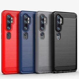 Funda Xiaomi Mi Note 10 TPU Carbono 3D