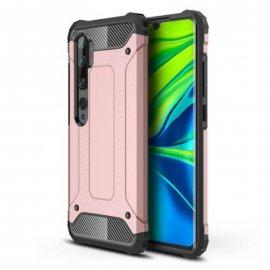 Funda Xiaomi MI Note 10 Shock Resistente Oro Rosa