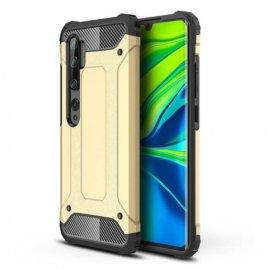 Funda Xiaomi MI Note 10 Shock Resistente Dorada