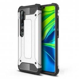 Funda Xiaomi MI Note 10 Shock Resistente Gris Plata
