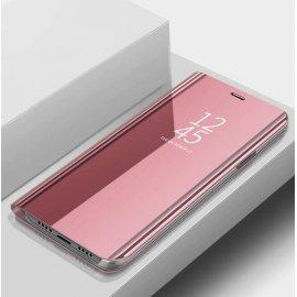 Funda Xiaomi Mi Note 10 libro Smart View Rosa