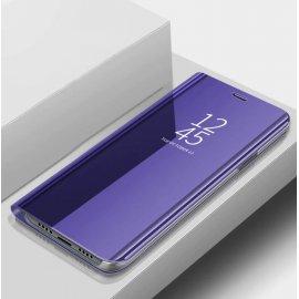 Funda Xiaomi Mi Note 10 libro Smart View Lila