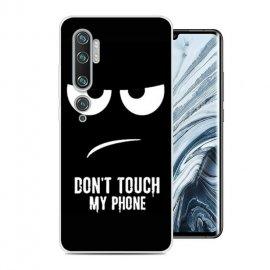 Funda Xiaomi MI Note 10 Gel Dibujo Enfadado