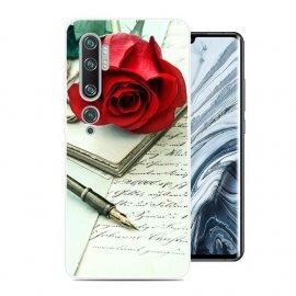 Funda Xiaomi MI Note 10 Gel Dibujo Rosa