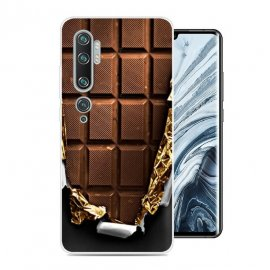 Funda Xiaomi MI Note 10 Gel Dibujo Chocolate