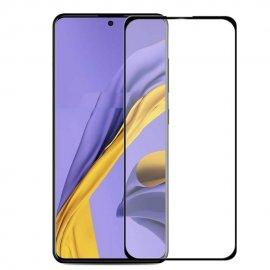 Cristal Templado Samsung Galaxy A51 Negro completo