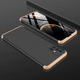 Funda 360 Samsung Galaxy A51 Negra y Dorada