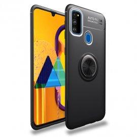 Funda Samsung Galaxy A51 Anillo Soporte Negra