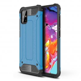 Funda Samsung Galaxy A51 Shock Resistante Azul