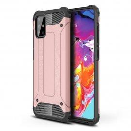 Funda Samsung Galaxy A51 Shock Resistante Oro Rosa