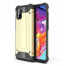 Funda Samsung Galaxy A51 Shock Resistante Dorada
