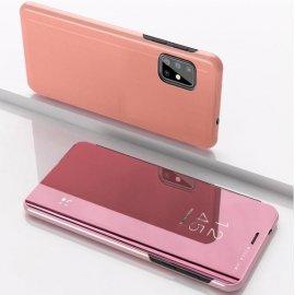 Funda Smart Translucida Samsung Galaxy A51 Rosa Espejo