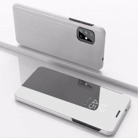 Funda Smart Translucida Samsung Galaxy A51 Gris Espejo