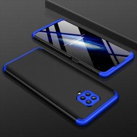 Funda Xiaomi Redmi Note 9 Pro 360 Negra y Azul