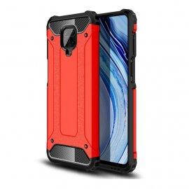 Funda Xiaomi Redmi Note 9 Pro Shock Resistente Roja