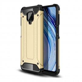 Funda Xiaomi Redmi Note 9 Pro Shock Resistente Dorada