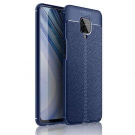Funda Redmi Note 9 Pro Cuero Tpu 3D Azul