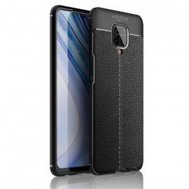 Funda Redmi Note 9 Pro Cuero Tpu 3D Negra