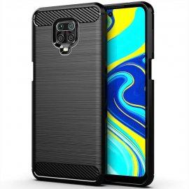 Funda Xiaomi Redmi Note 9 PRO TPU Carbono 3D Negra