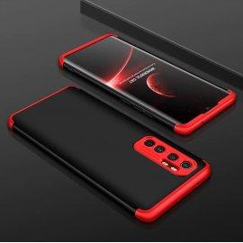 Funda 360 Xiaomi Mi Note 10 Lite Negra y Roja