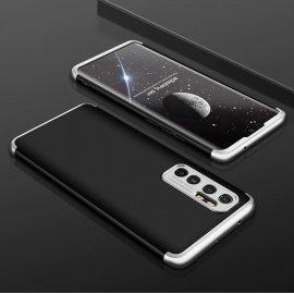 Funda 360 Xiaomi Mi Note 10 Lite Negra y Gris