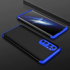 Funda 360 Xiaomi Mi Note 10 Lite Negra y Azul