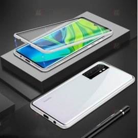Funda Cubretodo Xiaomi Mi Note 10 Lite Magnetica Gris