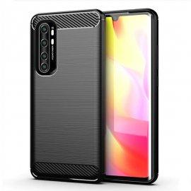 Funda Xiaomi Mi Note 10 Lite Carbono 3D Flexible Negra