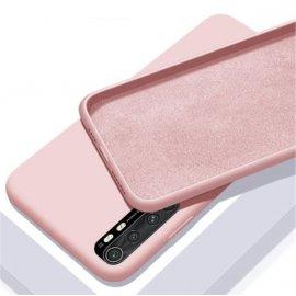 Carcasa Xiaomi Mi Note 10 Lite Suave Rosa