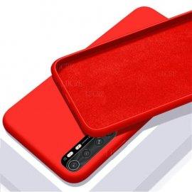 Carcasa Roja Xiaomi Mi Note 10 Lite Suave