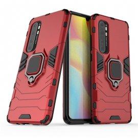 Funda Xiaomi Mi Note 10 Lite IShock Resistante con anilla Roja