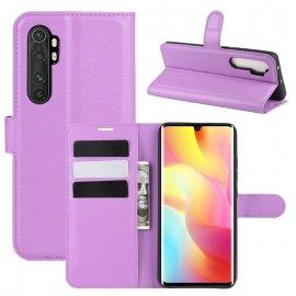 Funda Cartera Xiaomi Mi Note 10 Lite Estuche Cuero Rosa