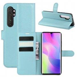 Funda Cartera Xiaomi Mi Note 10 Lite Estuche Cuero Azul