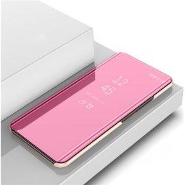 Funda Xiaomi Mi Note 10 Lite Smart libro Espejo Rosa