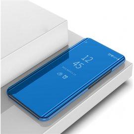 Funda Xiaomi Mi Note 10 Lite Smart libro Espejo Azul