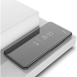 Funda Xiaomi Mi Note 10 Lite Smart libro Espejo Negra