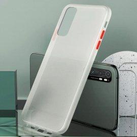 Funda Mi Note 10 Lite Dual Kawax blanca