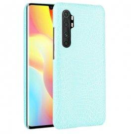 Funda Xiaomi Mi Note 10 Lite Cocodrilo Turquesa